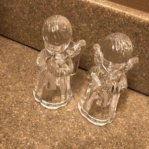 Beautiful angel candle holders